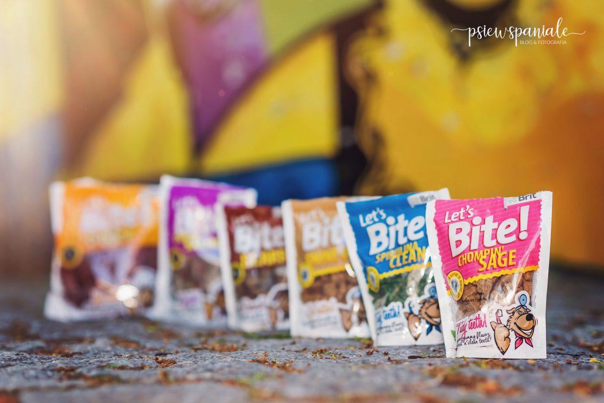 Recenzja psich smakołyków Let's Bite od Brit
